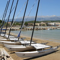 Catamarans in Almyrida